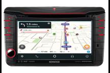 DNX518VDABS - Sistema di navigazione AV, schermo da 7,0 , sagomato per vetture VW, con Smarphone Control, Bluetooth e DAB+