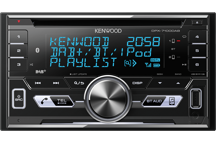 DPX-7100DAB - 2-DIN CD-Receiver met Bluetooth & DAB+ Radio.