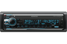 KDC-X7200DAB - Digitalautoradio mit Bluetooth, USB-Port und CD