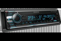 KDC-X7200DAB - CD přijímač s vestavěným Bluetooth a DAB/DAB+ rádiem.
