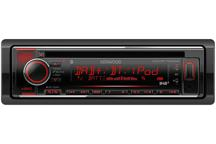 KDC-BT720DAB - CD-Recetor com Bluetooth e Rádio DAB+ incorporados