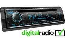 KDC-BT720DAB - CD-Receiver with Built-in Bluetooth & DAB+ Radio.