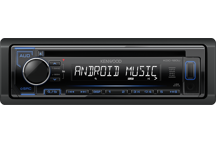 KDC-120UB - CD-Receiver with Front USB & AUX Input