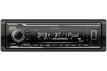 KMM-BT504DAB - Recetor Media Digital com Bluetooth e Rádio DAB+ incorporados.