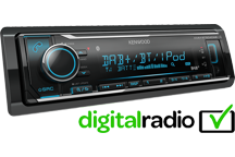 KMM-BT504DAB - Digital Media Receiver with Built-in Bluetooth & DAB+ Radio