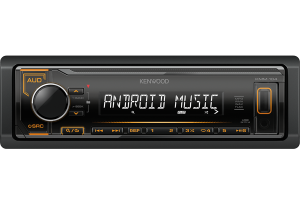 Receivers • KMM-104AY Features • KENWOOD Europe on