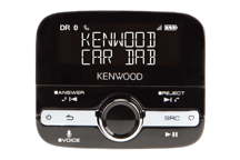 KTC-500DAB - Adaptateur DAB+ Voiture avec fonction Bluetooth (appel mains libres et diffusion musicale)