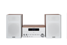 M-817DAB-W - Micro Hi-Fi System with CD player DAB+ Tuner and USB Connection