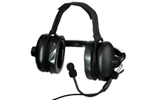 KHS-10D-BH - Heavy Duty Noise Reduction Headset (behind-the-head / 2-pin)