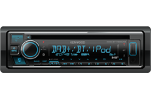 KDC-BT730DAB - CD/USB-Receiver met Bluetooth & DAB+ Radio.