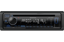 KDC-130UB - CD-Receiver with Front USB & AUX Input.