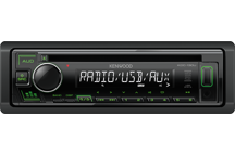 KDC-130UG - CD-Receiver with Front USB & AUX Input.
