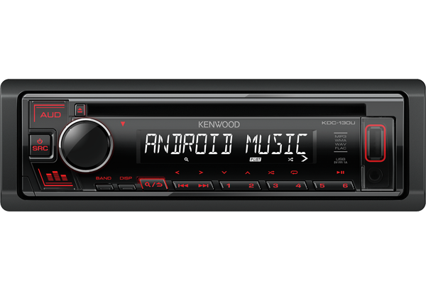 KDC-130UR USB and Android Car Stereo • KENWOOD UK on