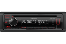 KDC-153R - CD-Receiver with Front USB & AUX Input.