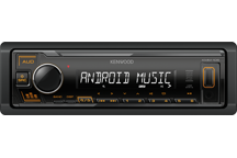 KMM-105AY - Digital Media Receiver with Front USB & AUX Input.