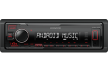 KMM-105RY - Digital Media Receiver with Front USB & AUX Input.