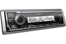 KMR-M505DAB - Marine, Digital Media Receiver with DAB Tuner & Bluetooth Built-in.