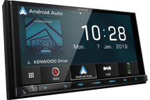 "DNX9190DABS - 6.8"" HD AV-Receiver/Navigation System with Smartphone Control, WiFi & DAB Radio Built-in."