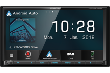 "DNX7190DABS - 7.0"" WVGA AV-Receiver/Navigation System with Smartphone Control & DAB Radio Built-in."