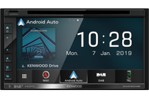 DNX5190DABS - 6.8 WVGA AV-Receiver/Navigation System with Smartphone Control & DAB Radio Built-in.