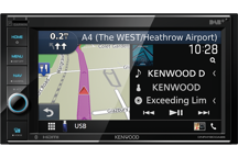 DNR4190DABS - 6.2 WVGA Digital Media AV-Receiver/Navigation System with Smartphone control & DAB Radio Built-in.