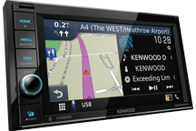 DNR3190BTS - 6.2 WVGA Digital Media AV-Receiver/Navigation System with Smartphone control.