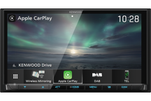 "DMX8019DABS - 7"" мултимедия с Wi-Fi, безжични Apple CarPlay & Android Mirroring"