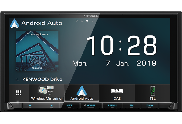 Multimedia Systems & Android Auto • DMX8019DABS Features • KENWOOD UK