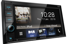 "DMX5019DAB - 6.2"" WVGA Digital Media AV-Receiver with Bluetooth & DAB Radio Built-in."