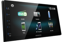 "DMX125DAB - 6.8"" WVGA Digital Media AV Receiver with DAB Radio Built-in."