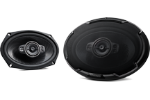 KFC-PS6996 - PERFORMANCE STANDARD SERIES, 6x9 Flush Mount 5-way 2-Speaker System.