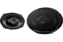 KFC-PS6986 - PERFORMANCE STANDARD SERIES, 6x9 Flush Mount 4-way 2-Speaker System.