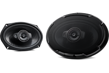 KFC-PS6976 - PERFORMANCE STANDARD SERIES, 6x9 Flush Mount 3-way 2-Speaker System.