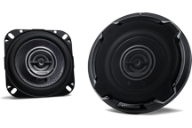 KFC-PS1096 - PERFORMANCE STANDARD SERIES, 10cm Flush Mount 3-way 2-Speaker System.