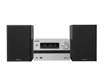 M-718BT - Micro Hi-Fi Systeem met CD player, USB en Bluetooth Audio-Streaming