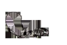 KHS-22 - Auscultador leve com microfone e ptt