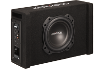 PA-W801B - 200mm powered oversized, down-firing, subwoofer in ported enclosure with high efficiency D-Class amplifier