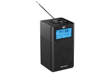CR-M10DAB-B - Radio compacte DAB+ et Diffusion Audio Bluetooth