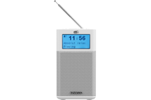 CR-M10DAB-W - Radio compacte DAB+ et Diffusion Audio Bluetooth