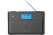 CR-ST50DAB-B - Stereo Kompaktradio mit DAB+ und Bluetooth Audiostreaming