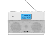 CR-ST50DAB-W - Compact Stereo Radio with DAB+ and Bluetooth Audio Streaming