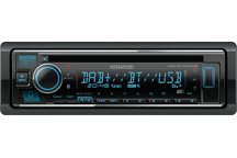 KDC-BT740DAB - Spotify & Amazon Alexa voorbereide CD/USB autoradio met geïntegreerde Bluetooth module & DAB radio.