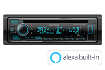 KDC-BT740DAB - CD/USB Receiver with Bluetooth, Spotify Connect & Digital Radio DAB+.