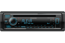 KDC-BT640U - DAB+ autoradio-CD/USB met Bluetooth, ondersteund Spotify, KENWOOD Remote App & Amazon Alexa.
