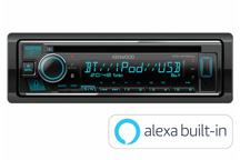 KDC-BT640U - CD/USB-Receiver with Bluetooth built-in, Spotify & Amazon Alexa ready