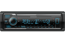 KMM-BT506DAB - mechless DAB+ autoradio-USB met Bluetooth, ondersteund Spotify, Remote App & Amazon Alexa.