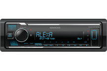 KMM-BT306 - Spotify & Amazon Alexa voorbereide digitale media autoradio met geïntegreerde Bluetooth module.
