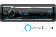 KMM-BT306 - Digital Media Receiver mit Bluetooth, Spotify & Amazon Alexa.