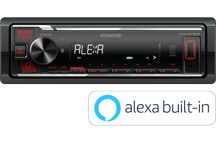 KMM-BT206 - Digital Media Receiver mit Bluetooth, Spotify & Amazon Alexa.
