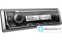 KMR-M506DAB - Marine Digital Media Receiver with Bluetooth, Spotify & Amazon Alexa Connect & Digital Radio DAB+